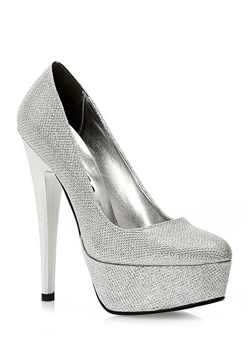 İssimo Klasik Ayakkabı Gümüş